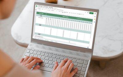 Google Sheets Habit Tracker