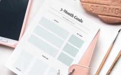 Free Goal Planning Worksheet [Free Printable]