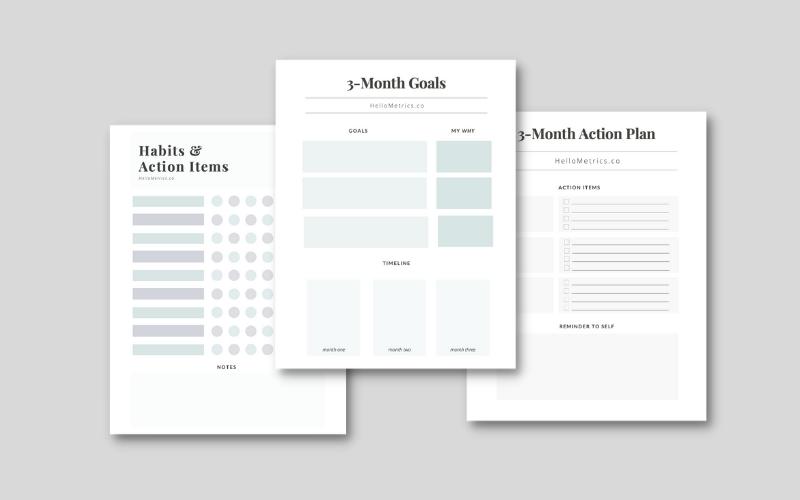 free goal planning worksheet